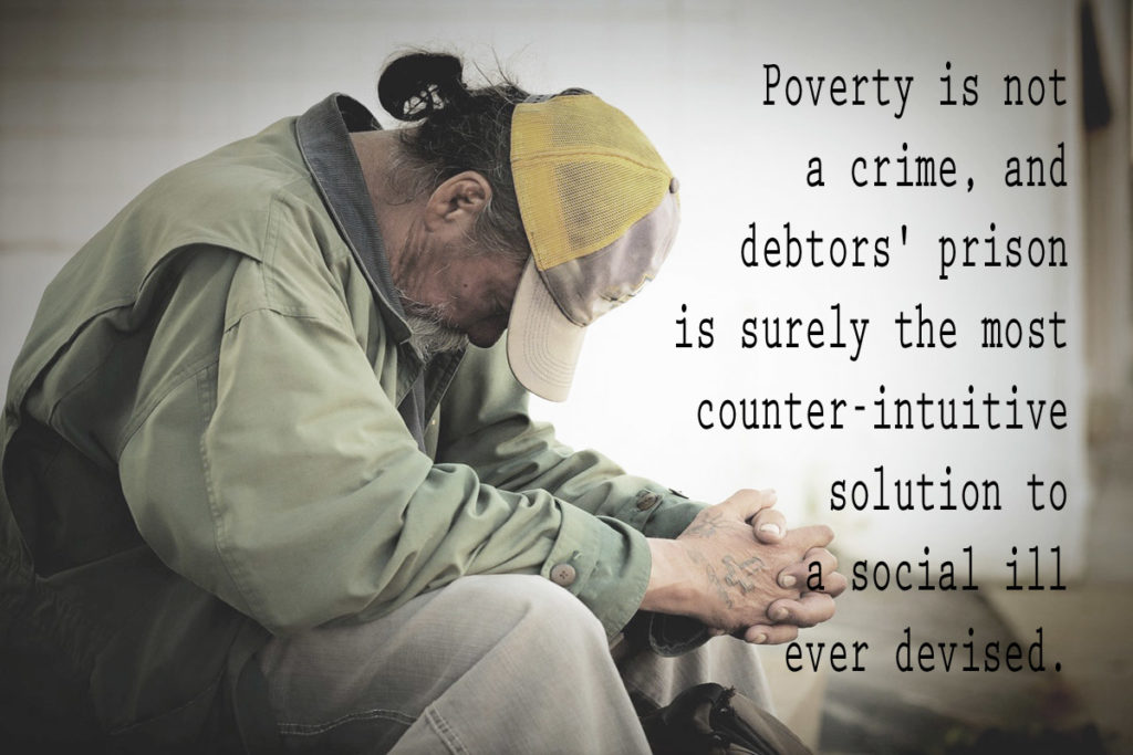 is poverty a crime Poverty is a cause of crime throughout history statistics have shown that poorer areas are more crime stricken than richer ones i think it's safe to assume that.